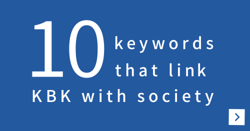10 keywords that link KBK with society